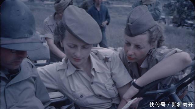 二战女兵照片:法国、美国颜值爆表,苏联女兵战斗值爆表