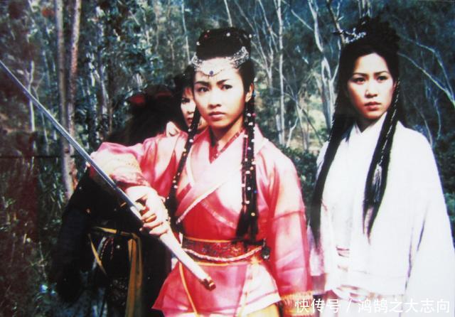 《倚天屠龙记》吴启华被黎姿的头饰扎得嗷嗷叫