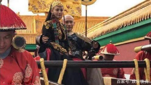 《延禧攻略》皇上对她爱不释手,就连出门都要坐在乾隆怀里