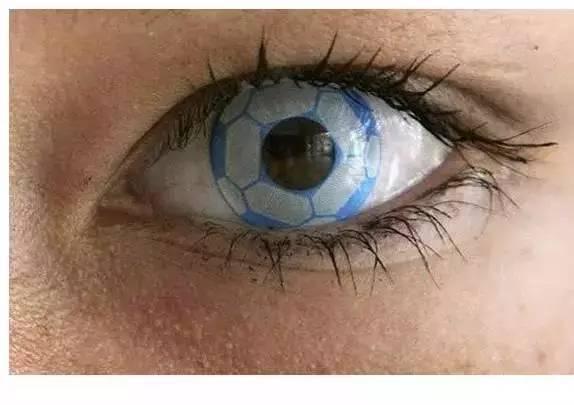 海里有种长得像眼睛的是什么动物