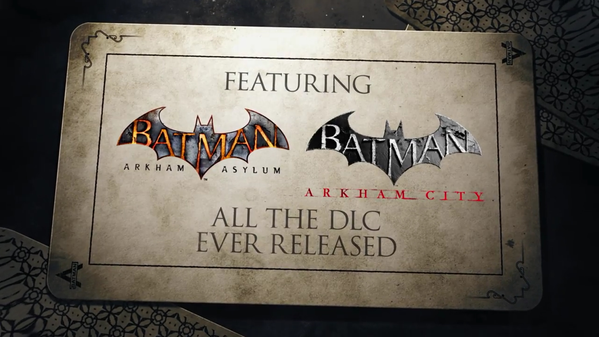 《蝙蝠侠:重返阿卡姆》7月26号上线