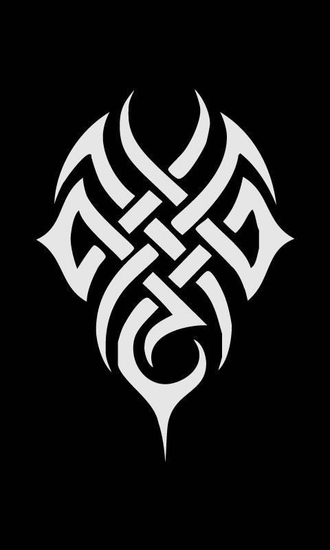 蝴蝶纹身部落十字架纹身邪恶的骷髅鬼简单的部落星座字母s心脏头文字d
