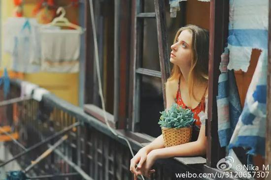 乌克兰妹子颜美中文好 定居中国变网络段子手? -  - 真光 的博客