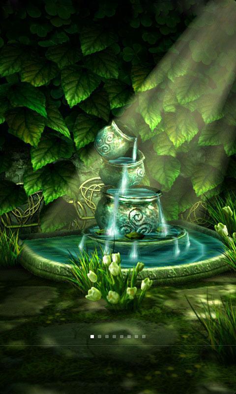 3d魔幻花园动态壁纸是一款梦幻的花园风景壁纸,壁纸亦