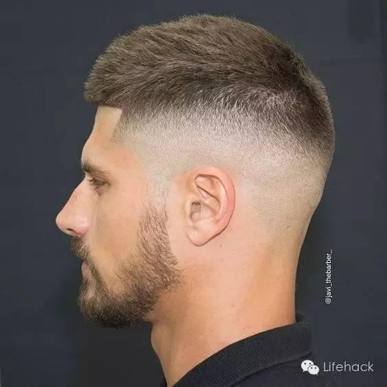 ▼ 渐变发型听着很高大上的样子,其实是最常见也是最适合亚洲男生的图片