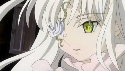 白头发的动漫女主