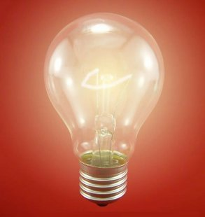 灯泡形设计图创意