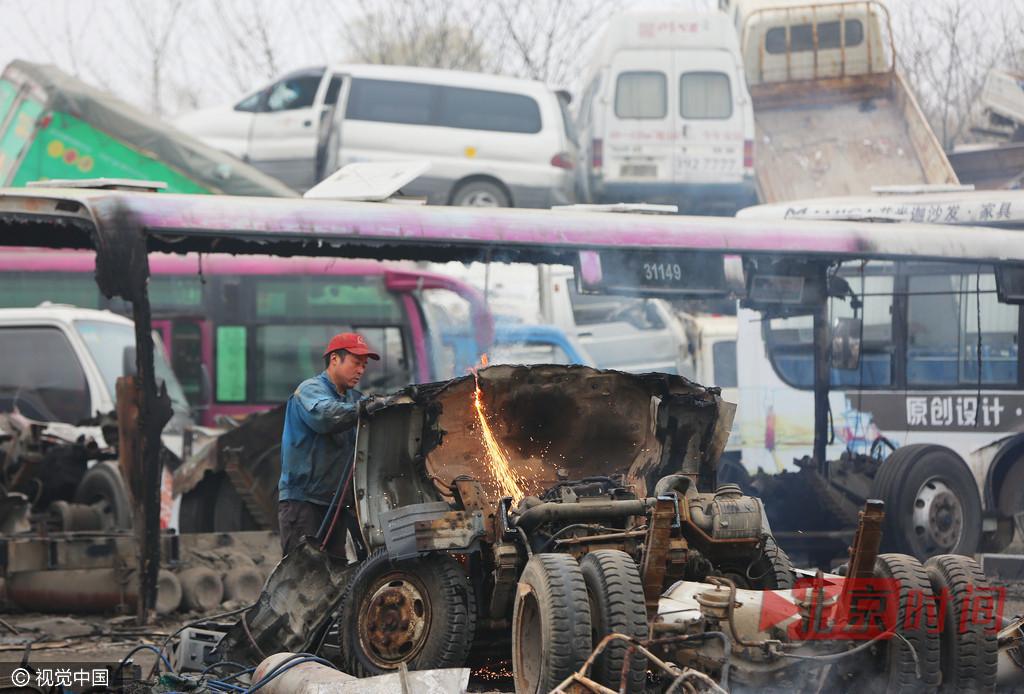 """【转】北京时间      拆车工手工""""肢解""""1辆轿车得150元 - 妙康居士 - 妙康居士~晴樵雪读的博客"""