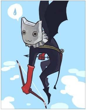 蝙蝠弓箭手卡片