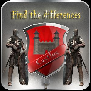 寻找差异 - 城堡