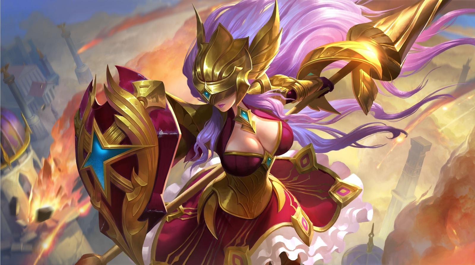 《王者荣耀》新英雄雅典娜