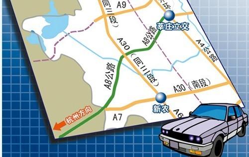 亭枫高速公路路线图