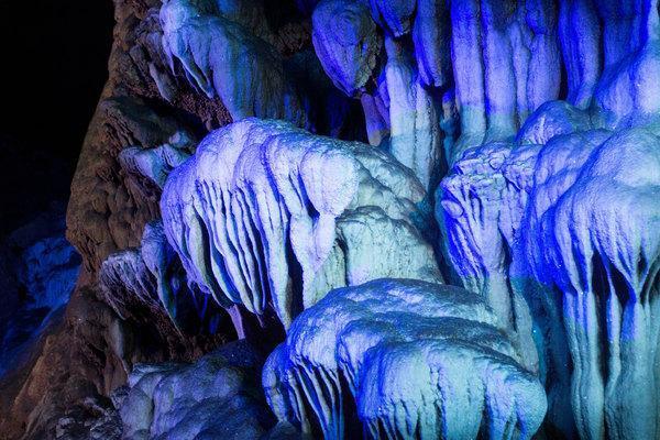 桂林的山水 奇石天下