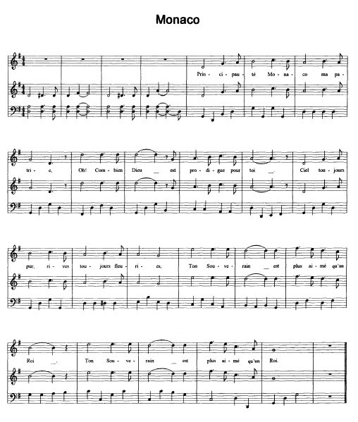 国歌曲谱演奏陶笛