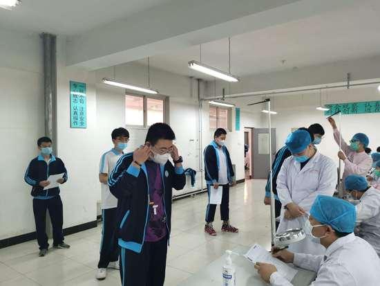 香河县人民医院送检入校助力莘莘学子梦想飞扬