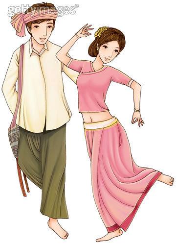 傣族舞蹈图片