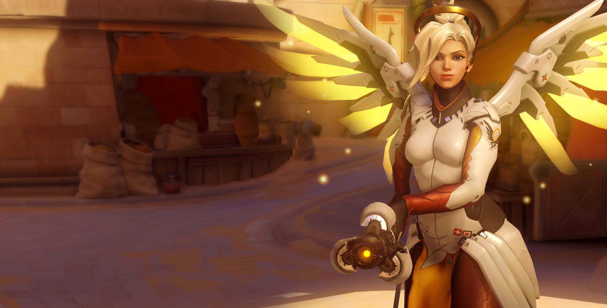 《守望先锋》玩家写信想娶天使