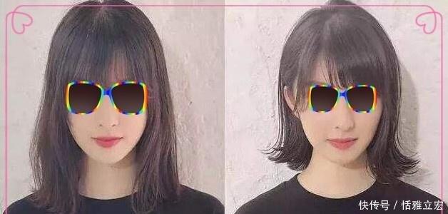 中长时尚选这6款喜欢发齐肩,款款都短发耐看,心理分析烫发女生发型图片