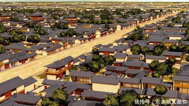 唐朝历史篇章:浅谈唐朝首都长安城的特点!