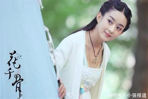 四大白衣美女,赵丽颖灵动,刘诗诗清纯,最后一位美的让人窒息