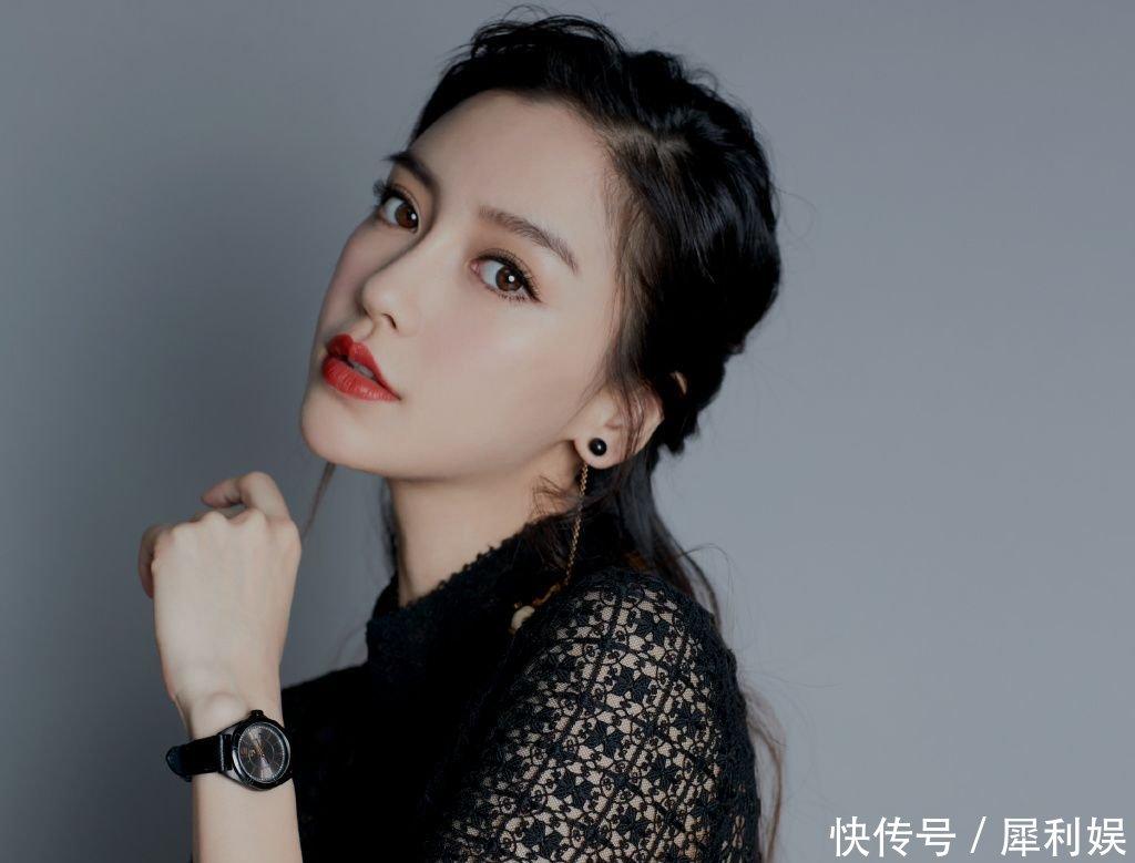 杨颖最丑照片被同学曝光,丑到没朋友,网友 回去好好研究演技吧