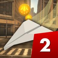 纸飞机的冒险旅程