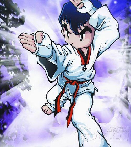 跆拳道基本功的步骤和图片