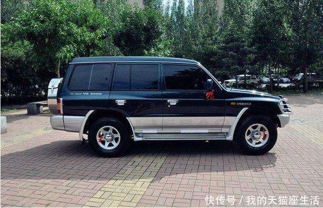 18年前国内最好的SUV,军工背景的''爬坡王'',三菱技术加持
