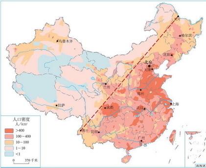 中国西北城市地图
