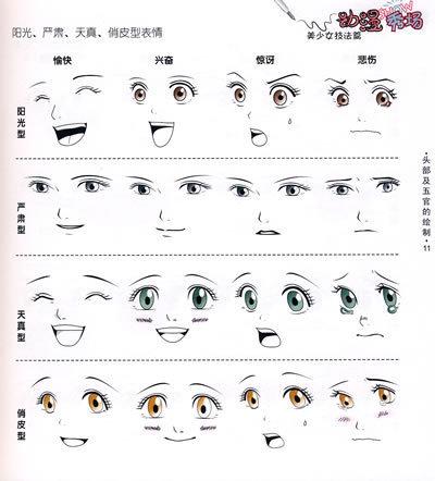 怎么画q版人物的眼睛-怎样画q版人物,特别是眼睛有那几种,要带图