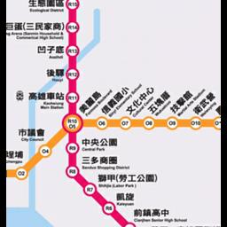 高雄捷运地图
