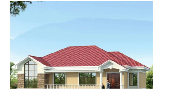 农村一层平房设计图-外观v农村大全图房屋建筑设计院升甲多少钱图片