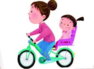 儿童安全乘坐自行车注意事项
