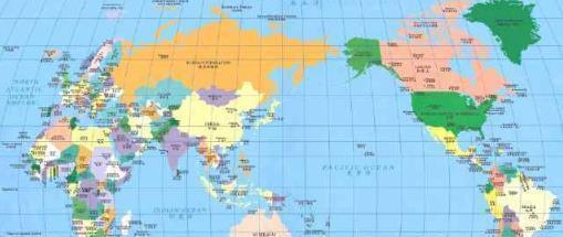 全世界地理位置最好的两个国家,一个是超级大国,一个正在崛起