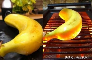 万物皆可烧烤,香蕉冰块儿不算啥,看到最后的它:秀儿本秀!