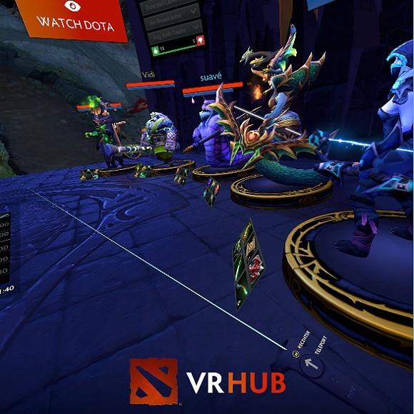 《Dota2》VR观战模式初体验