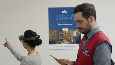 微软HoloLens与Lowe's通力合作 打造你的梦想厨房