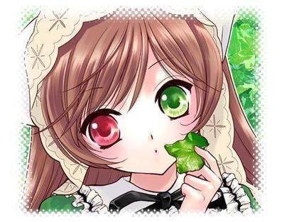 出自:动漫《蔷薇少女》