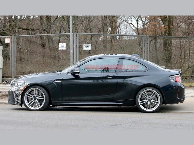 新款宝马m2或将延续现款车型的动力系统,依然搭载3.