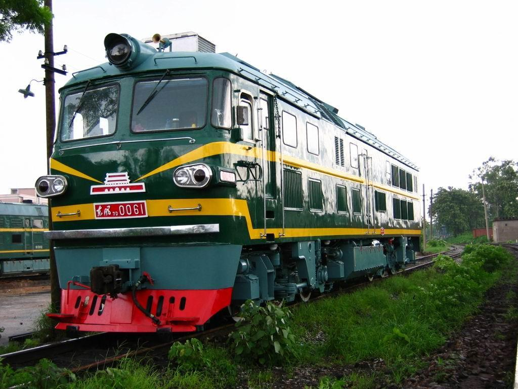 东风7d型内燃机车