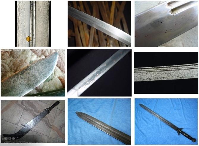 真正经多层钢材折叠而成之花纹刃,除外表花纹美观外,刃身亦非常坚韧