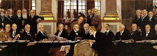 《凡尔赛和约》对德国做了什么,引起德国的疯狂复仇 -  - 真光 的博客