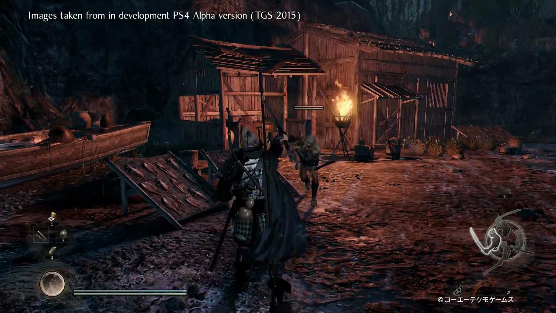 日本神怪ARPG《仁王》试玩视频公布 游戏性值得赞