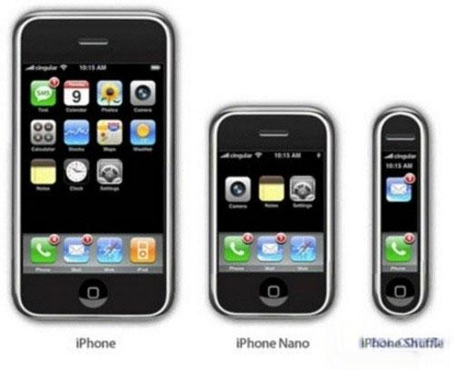 苹果iphone nano