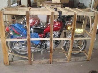 哪家物流会打包摩托车_摩托车发物流怎么打包
