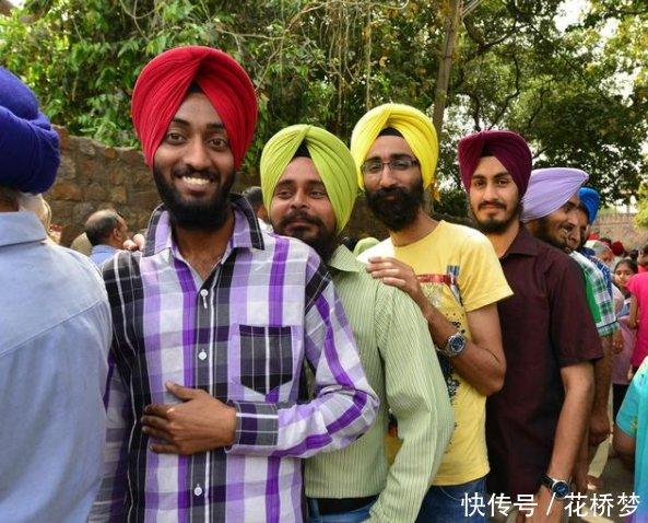 印度那么热,印度男人却用头巾包住脑袋,这是为什么网友秀儿