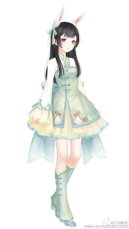 奇迹暖暖中秋节活动套装展示2.jpg