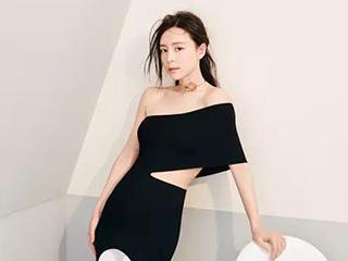 张静初大片秀完美腰线运动咖的时尚,用身体说话