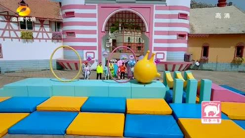 <b>人偶总动员</b>第三季:麦咭完美通过香蕉吊桥。
