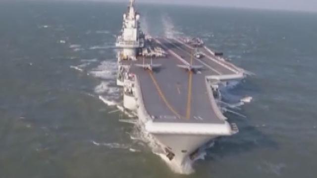 《军情解码》20170315中国航母不是纸老虎